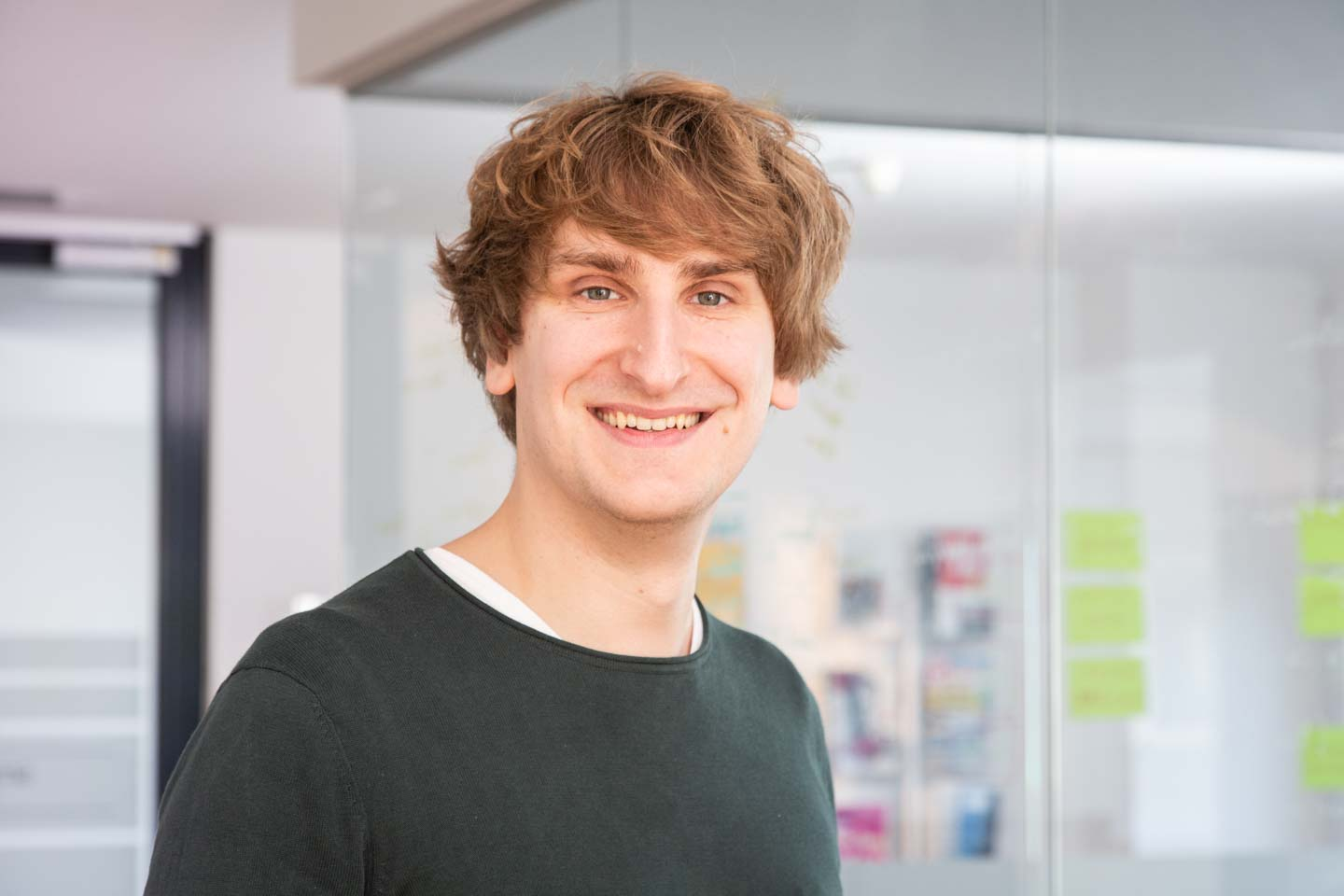 Ein Foto von Marc Alexander Saleiko, Software- und Web-Developer in der Werbeagentur smply.gd